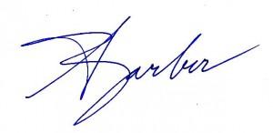 David Barber Signature